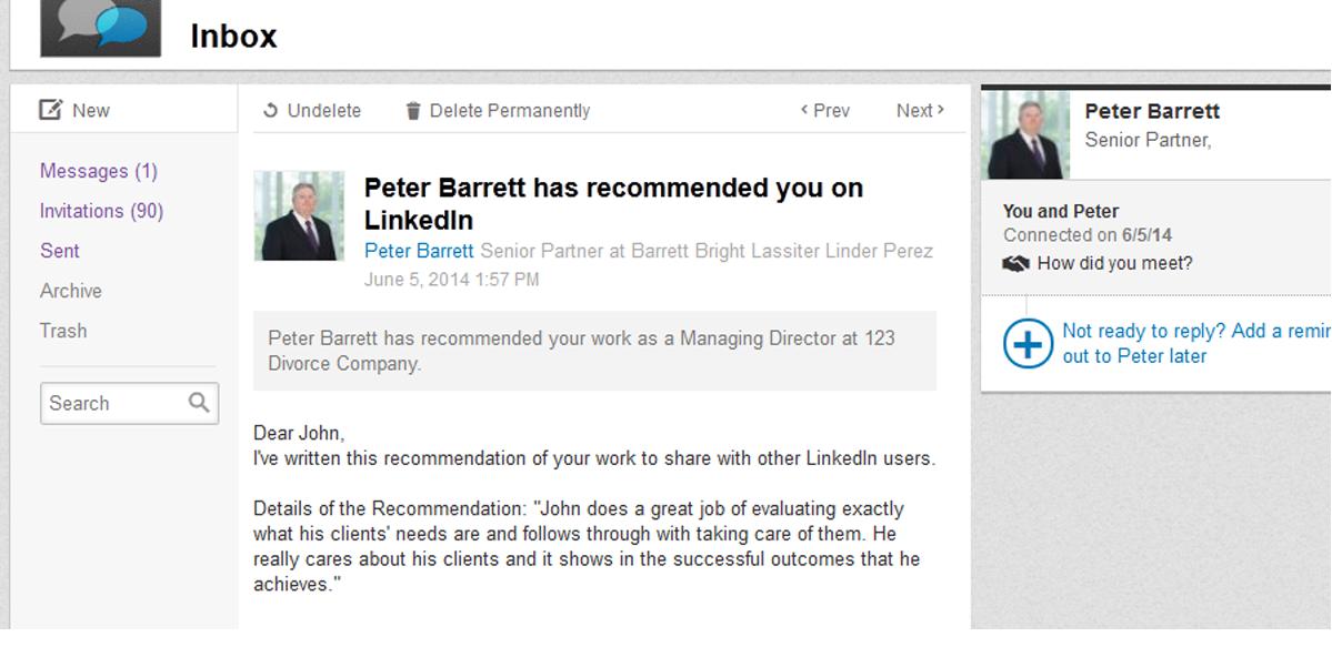PeterBarrett_Recommendations